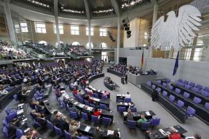 © Deutscher Bundestag/Thomas Trutschel/ photothek Nutzungsbedingungen: http://www.bundestag.de/wissen/archiv/sachgeb/bilda/bildnutz.html Es werden nur einfache Nutzungsrechte eingeräumt, die ein Recht zur Weitergabe der Nutzungsrechte an Dritte ausschließen